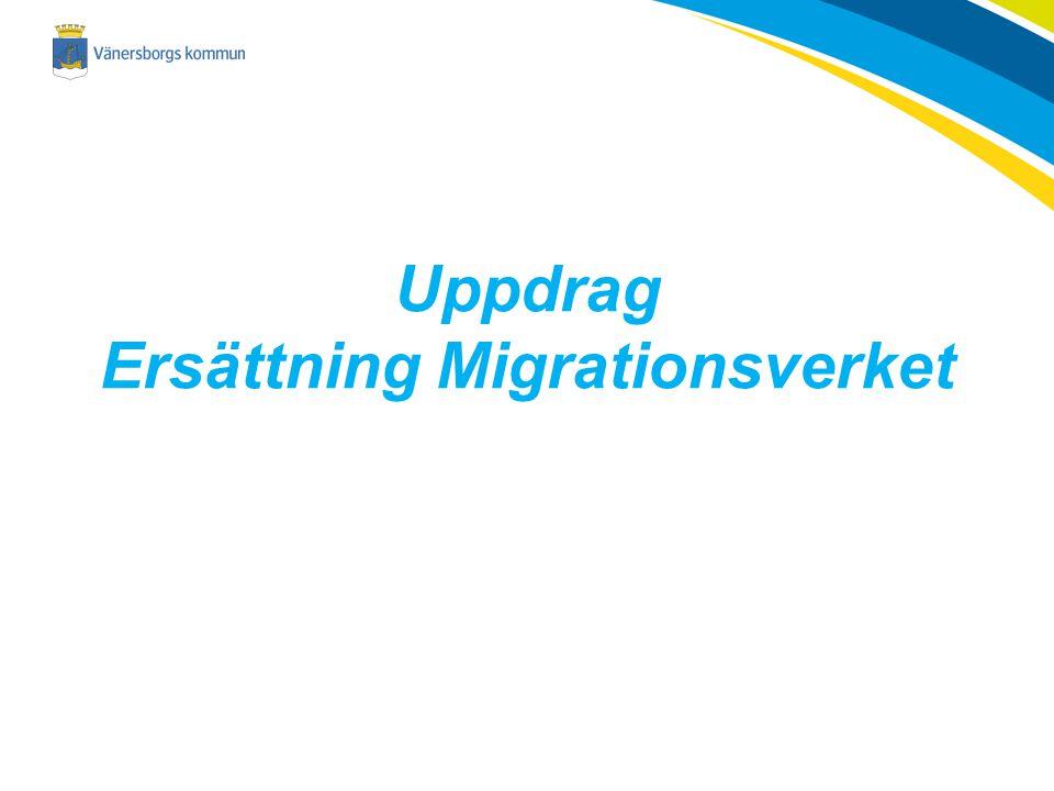 Uppdrag Ersättning Migrationsverket
