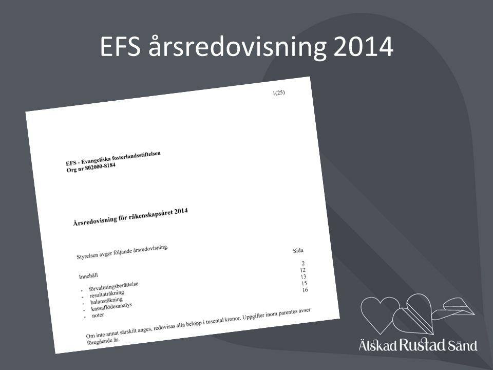 EFS årsredovisning 2014