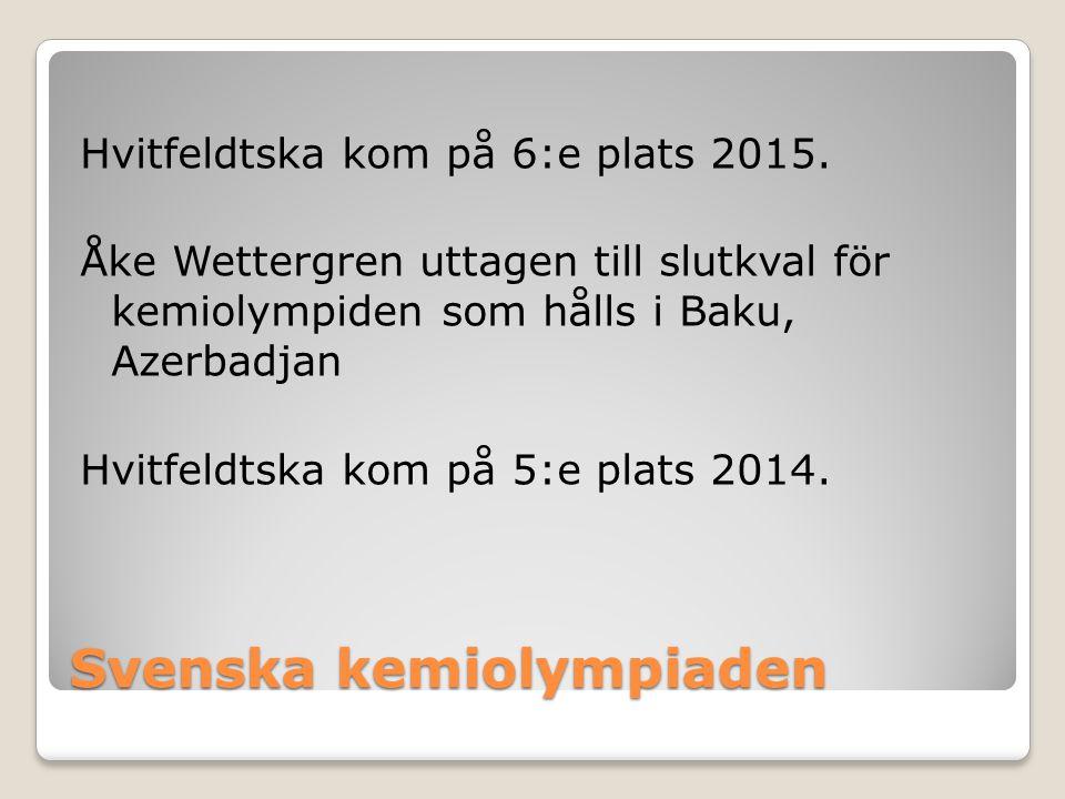 Svenska kemiolympiaden