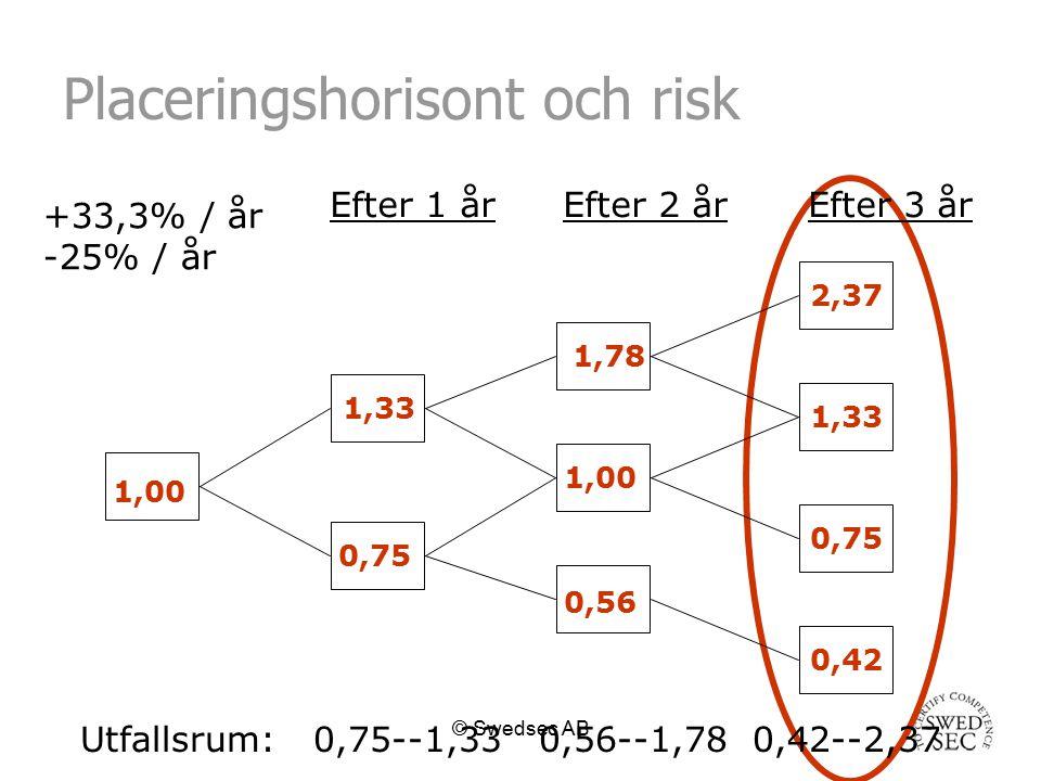 Placeringshorisont och risk