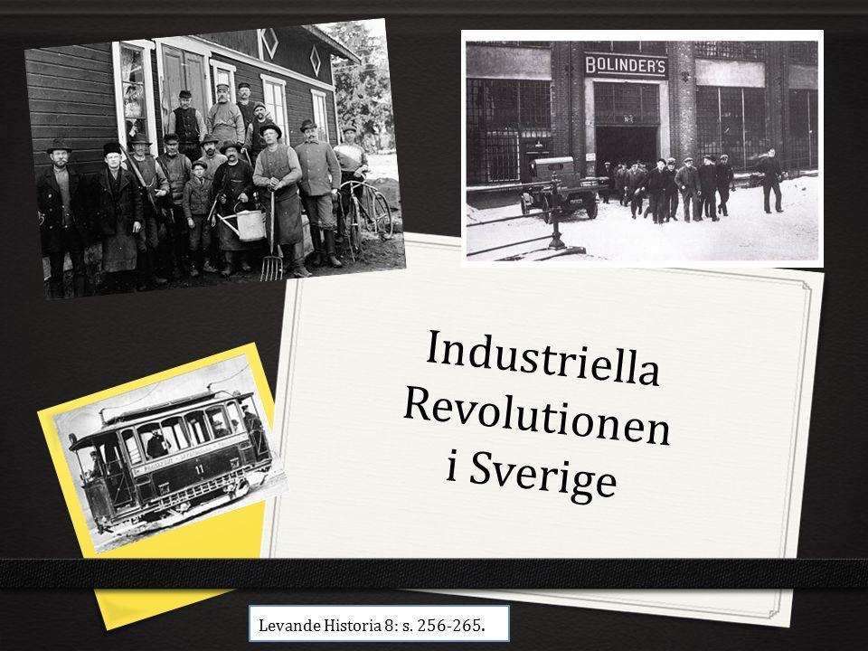 Industriella Revolutionen i Sverige