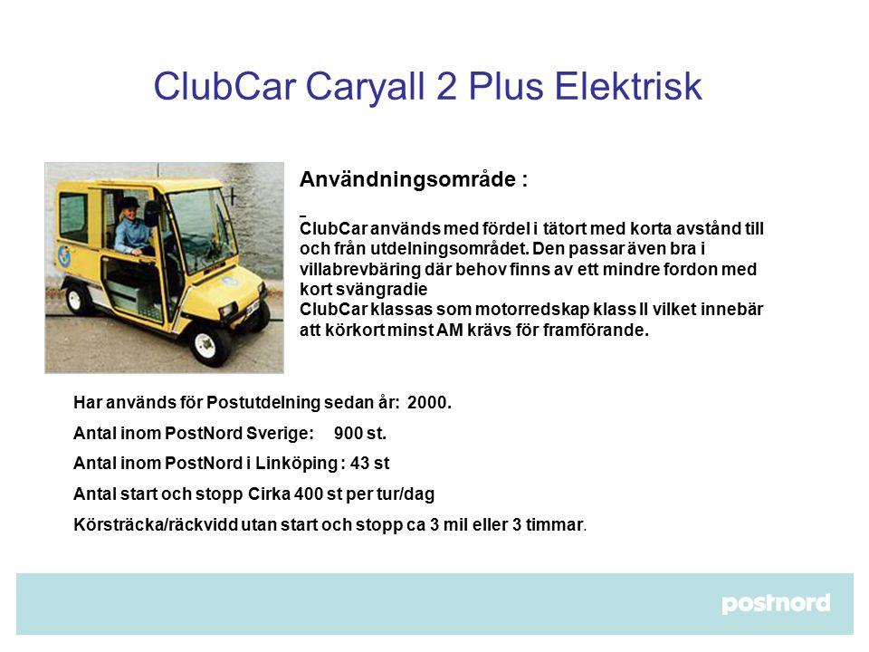 ClubCar Caryall 2 Plus Elektrisk