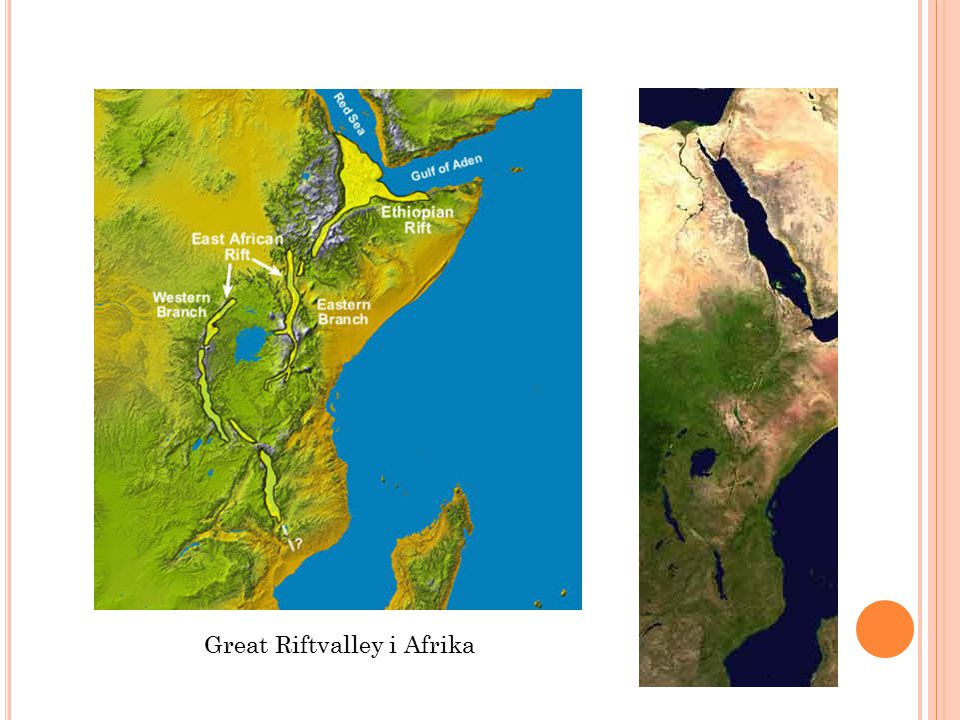 Great Riftvalley i Afrika
