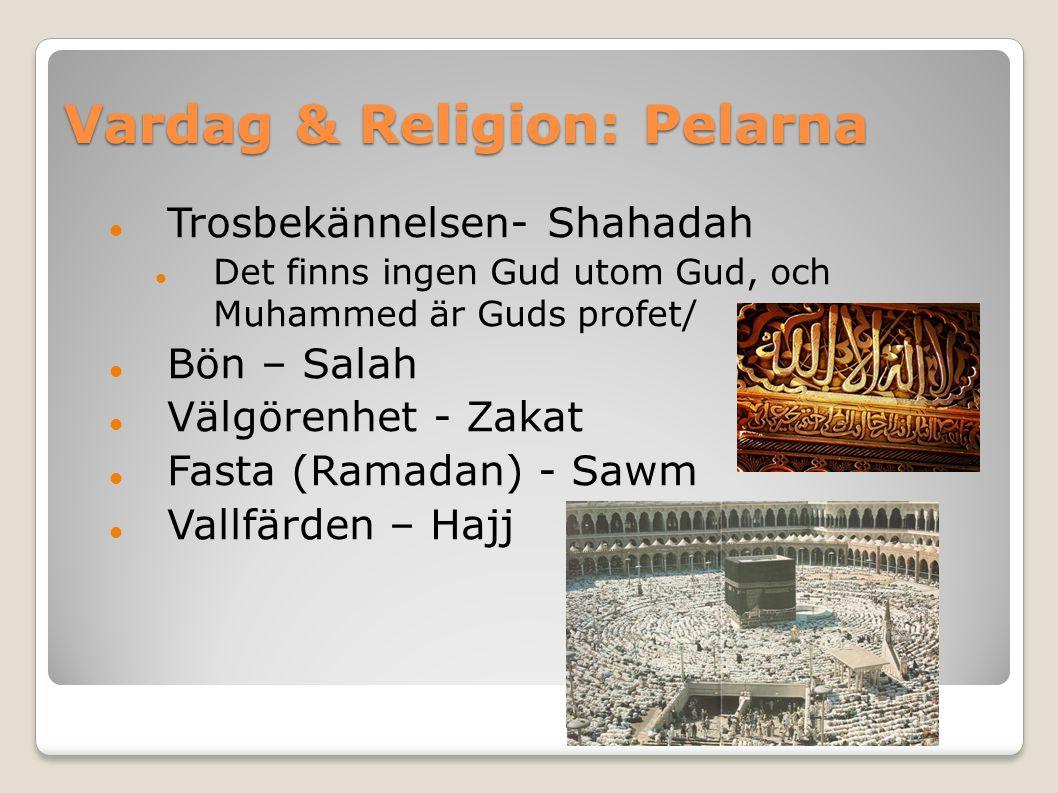 Vardag & Religion: Pelarna