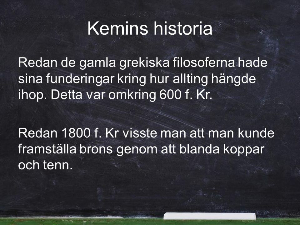 Kemins historia
