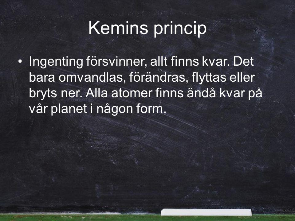 Kemins princip