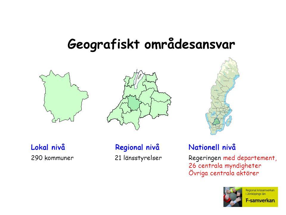 Geografiskt områdesansvar