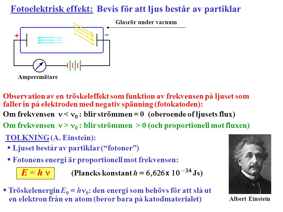 Fotoelektrisk effekt: