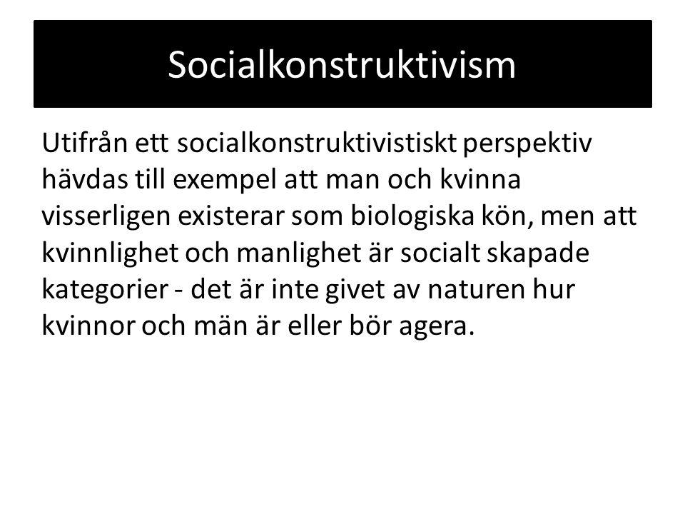 Socialkonstruktivism