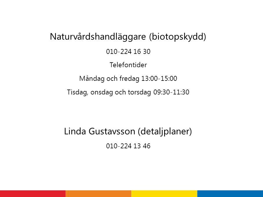 Naturvårdshandläggare (biotopskydd)