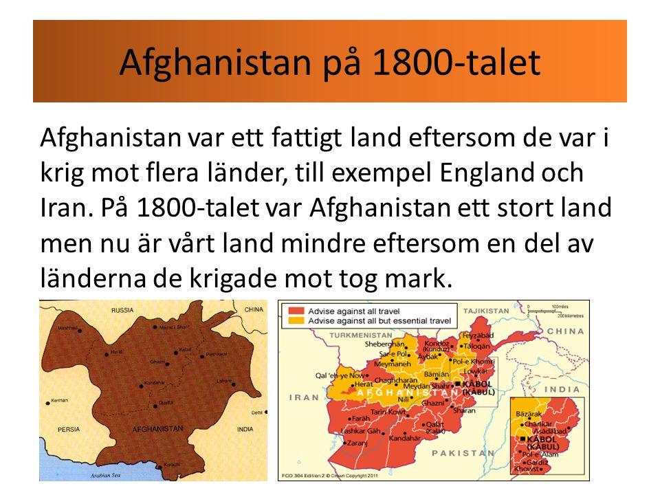 Afghanistan på 1800-talet