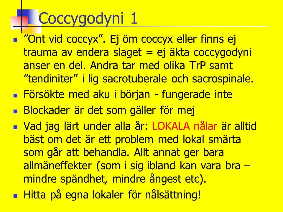 Coccygodyni 1