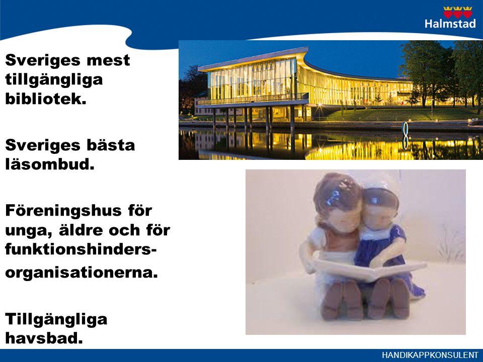 Sveriges mest tillgängliga bibliotek.