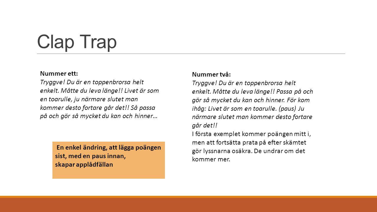 Clap Trap