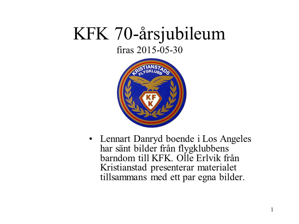 KFK 70-årsjubileum firas 2015-05-30