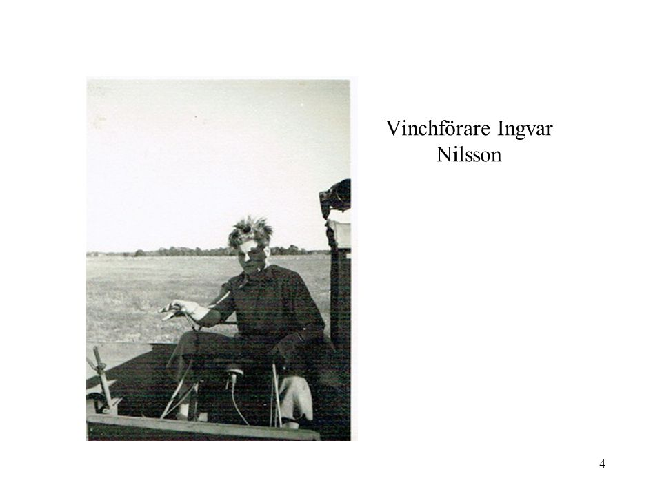 Vinchförare Ingvar Nilsson