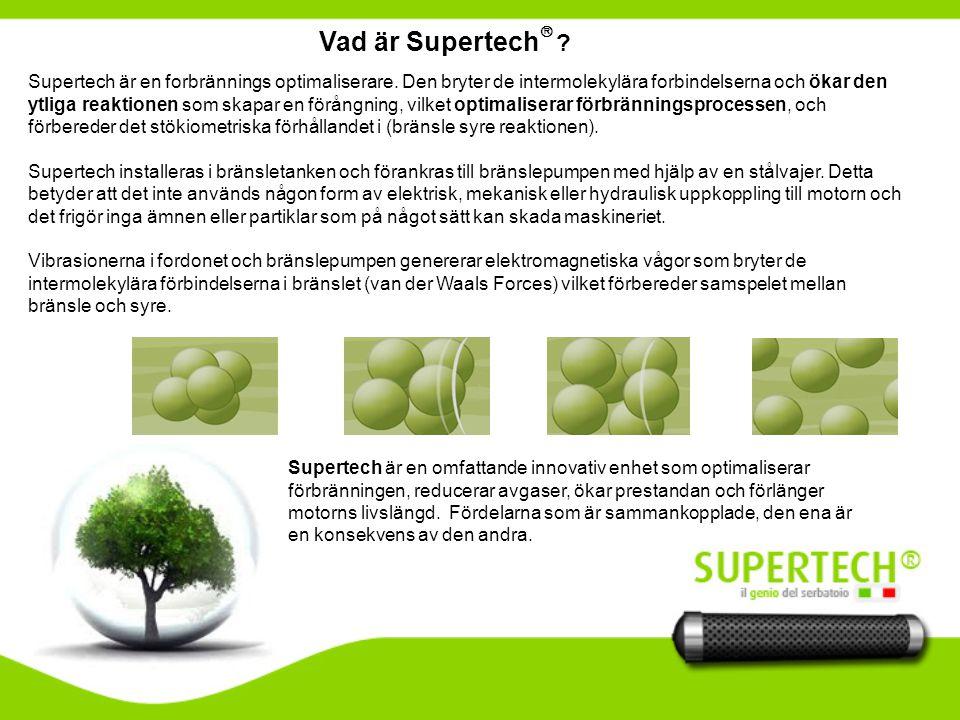 Vad är Supertech