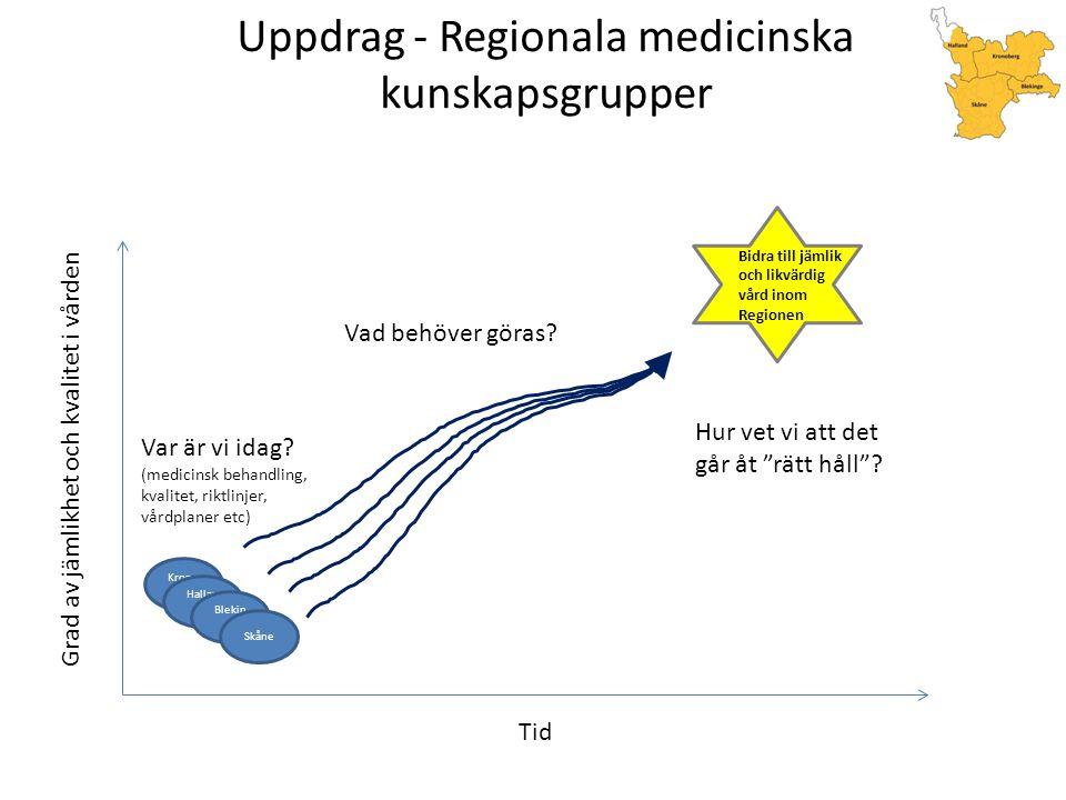 Uppdrag - Regionala medicinska