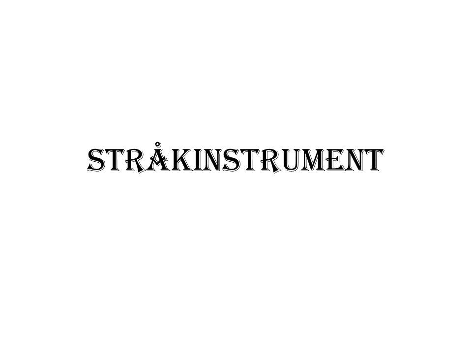 STRÅKINSTRUMENT