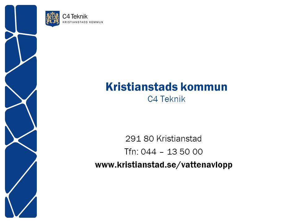 Kristianstads kommun C4 Teknik