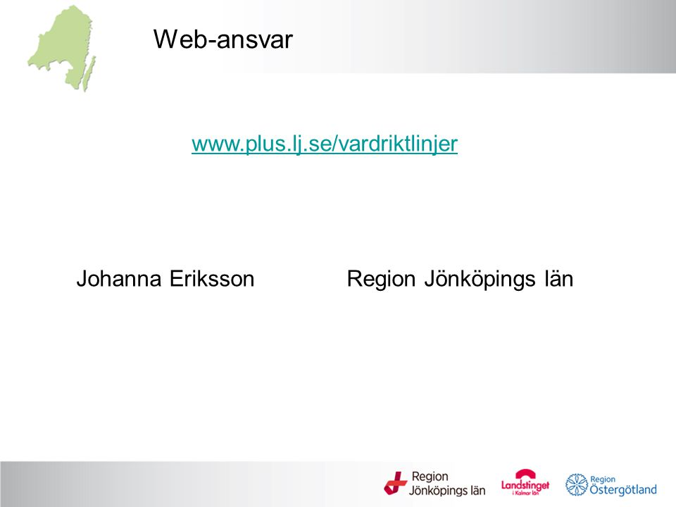 Johanna Eriksson Region Jönköpings län