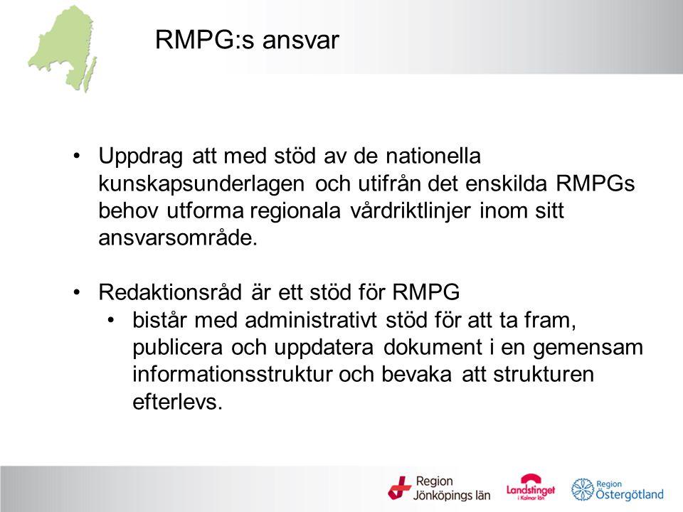 RMPG:s ansvar
