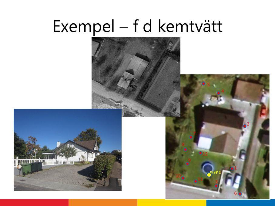 Exempel – f d kemtvätt