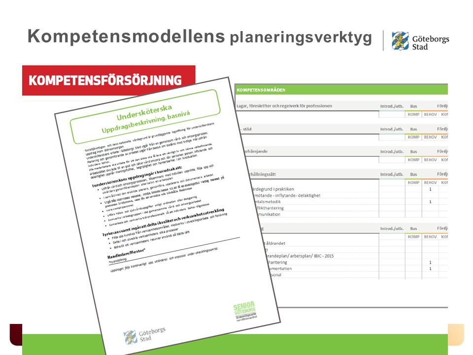 Kompetensmodellens planeringsverktyg