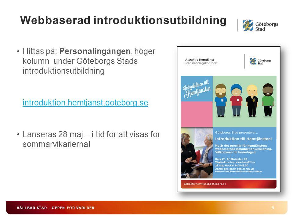 Webbaserad introduktionsutbildning