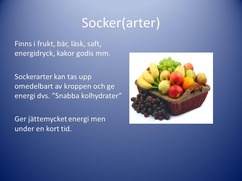 Socker(arter)
