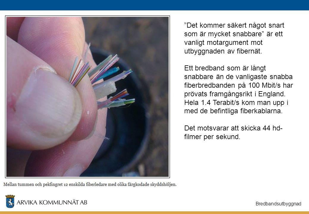 Hela 1.4 Terabit/s kom man upp i med de befintliga fiberkablarna.