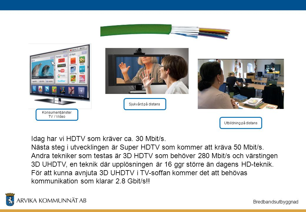 Konsumentjänster TV / Video