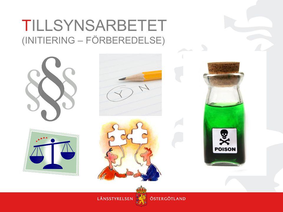TILLSYNSARBETET (INITIERING – FÖRBEREDELSE)