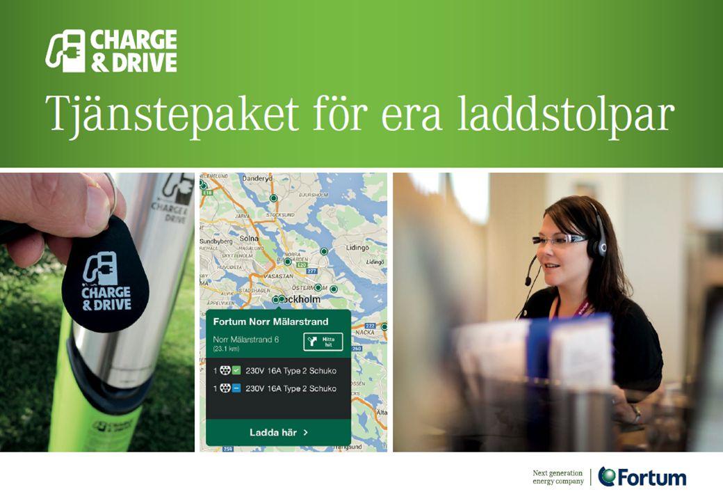 Vi kommer vara operatör i Norge men sedan systemleverantör