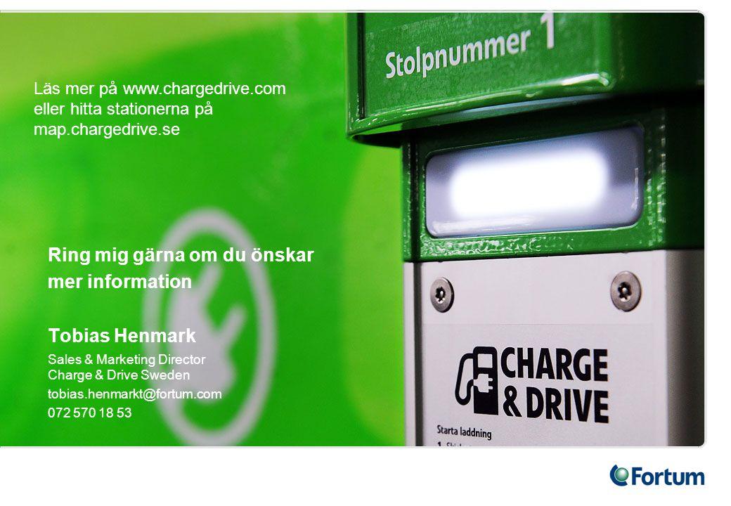 Ring mig gärna om du önskar mer information Tobias Henmark