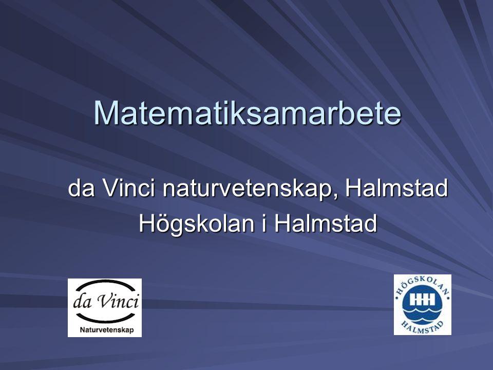 da Vinci naturvetenskap, Halmstad Högskolan i Halmstad