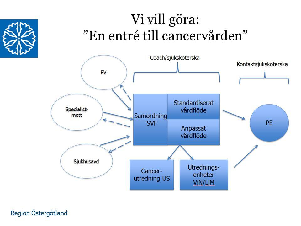 Vi vill göra: En entré till cancervården
