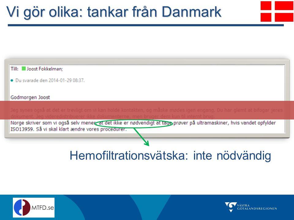 Vi gör olika: tankar från Danmark