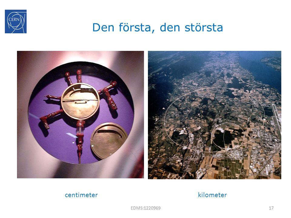 Den första, den största centimeter kilometer EDMS:1220969