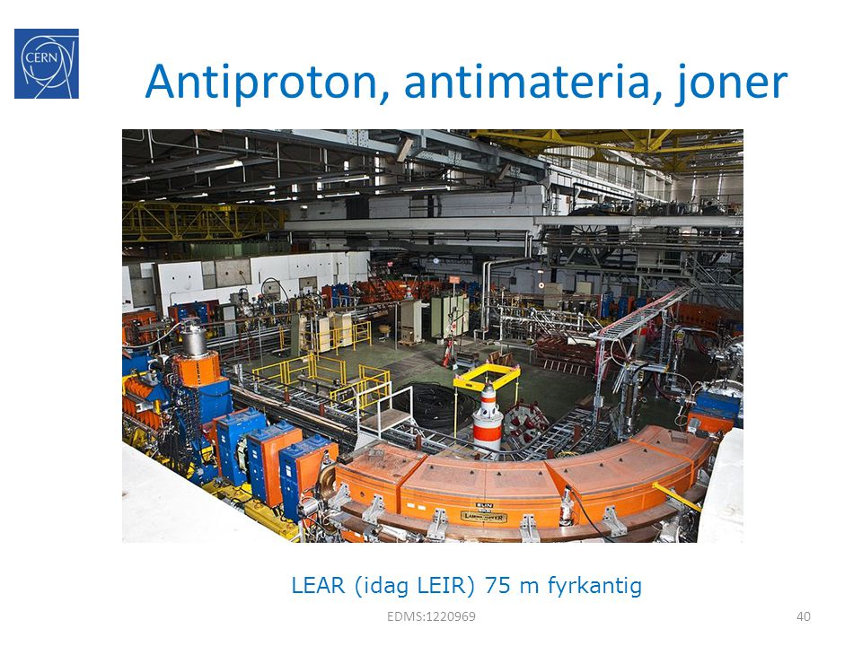Antiproton, antimateria, joner