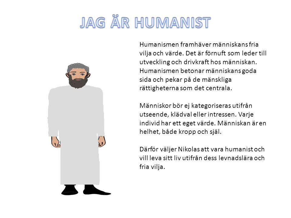 JAG ÄR HUMANIST
