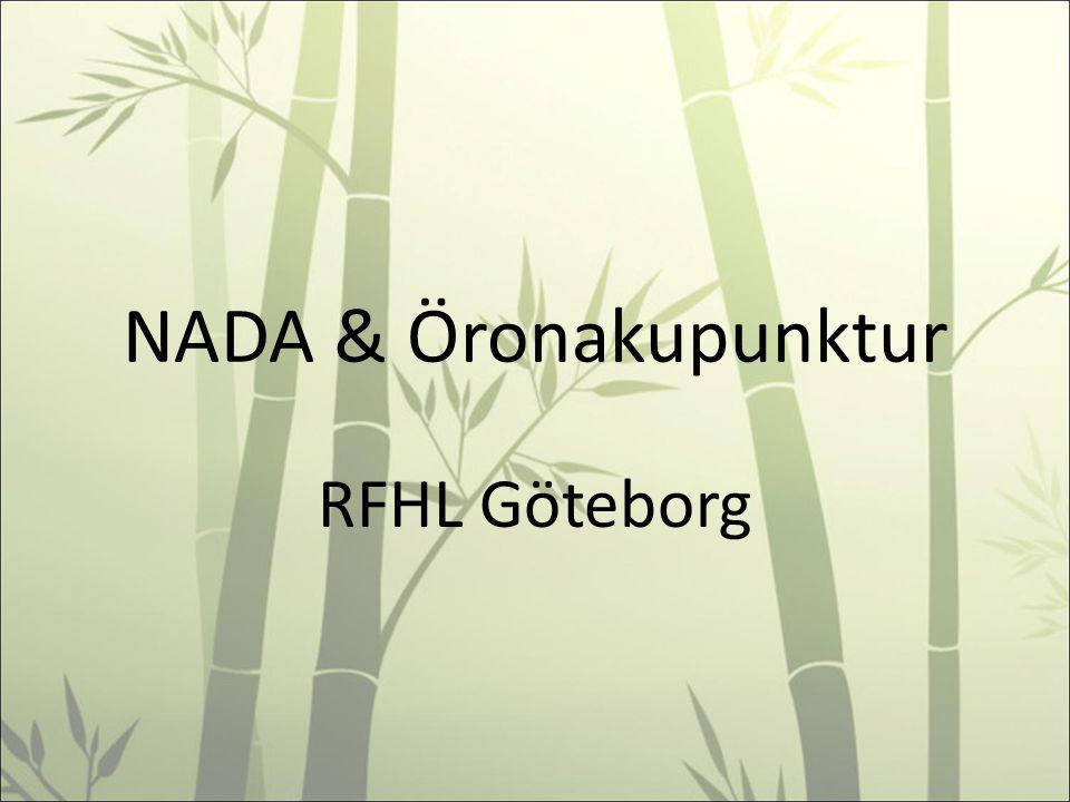 NADA & Öronakupunktur RFHL Göteborg