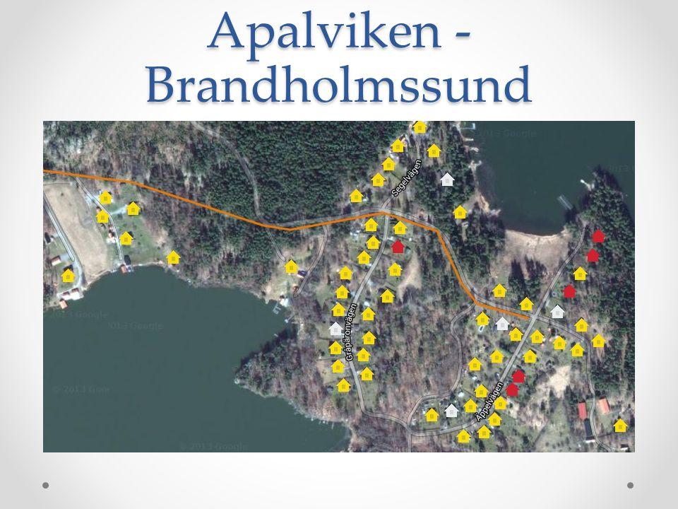 Apalviken - Brandholmssund