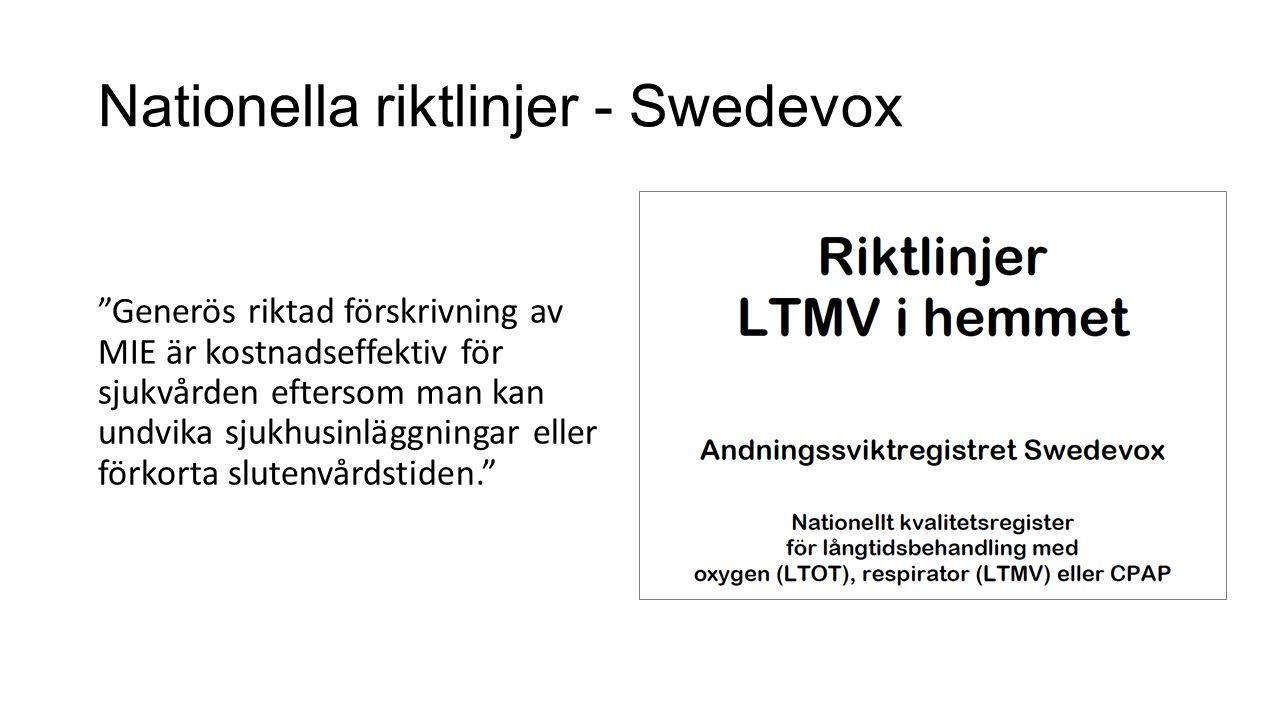 Nationella riktlinjer - Swedevox