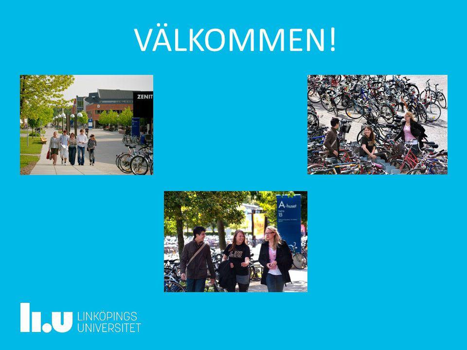 2017-04-20 VÄLKOMMEN! Linköpings universitet