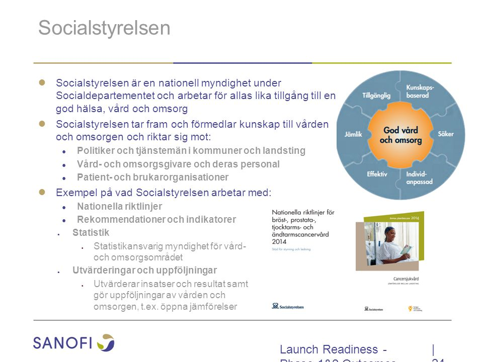 Socialstyrelsen Launch Readiness - Phase 1&2 Outcomes | 24