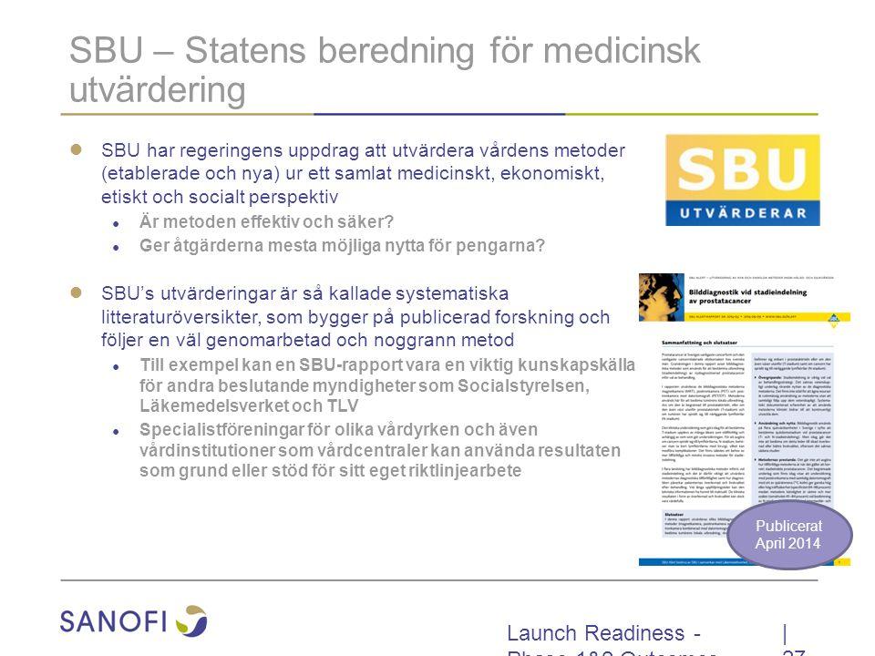 SBU – Statens beredning för medicinsk utvärdering