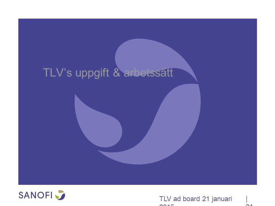 TLV's uppgift & arbetssätt