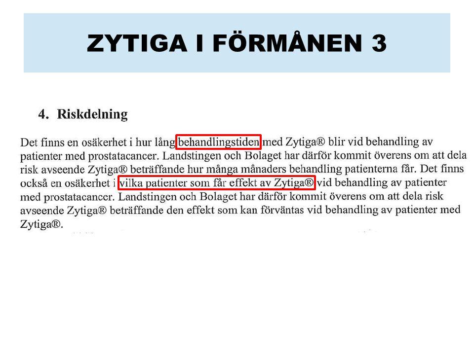 ZYTIGA I FÖRMÅNEN 3