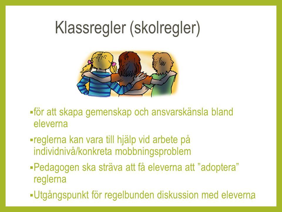 Klassregler (skolregler)